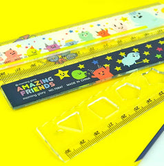 Moongs and Amazing Friends Ruler