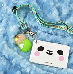 Animal Face Keyring Note Cards