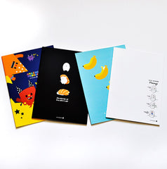 Moongs Slim Notebook Collection