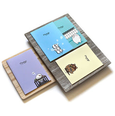 Moongs Pastel Notebooks