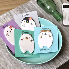 Moongs Sticky Memo Pads