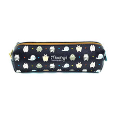 Moongs Pencil Pouch-Moons Zoo (Navy)