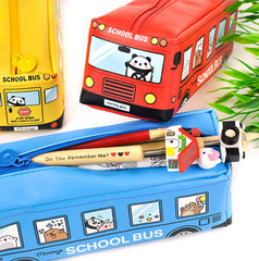 Moongs School Bus Pencil Case