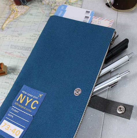 New York Traveler Pencil Pouch