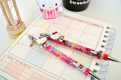 Hello Kitty Moving Clip 0.5mm Ballpoint Pen