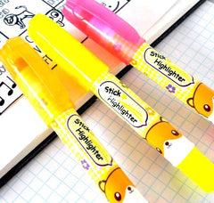 Hamster Gel Stick Neon Highlighters