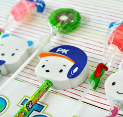 Kawaii Lollipop Pencil and Eraser