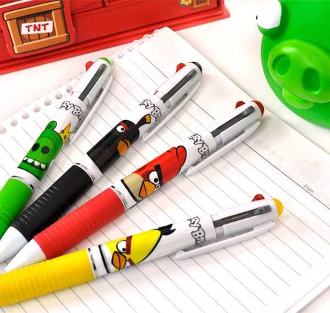 Angry Birds Retractable Pen and 0.5 mm Mechanical Pencil