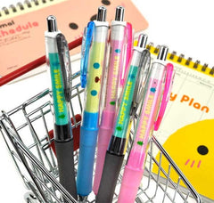 Happy Smiles 0.5mm Shaker Soft Grip Mechanical Pencil