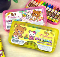 Rilakkuma in Paradise 12 pc. Artist Crayon Set