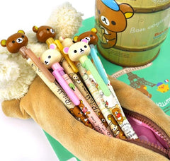 Rilakkuma's Happy Natural Time Mechanical Pencils