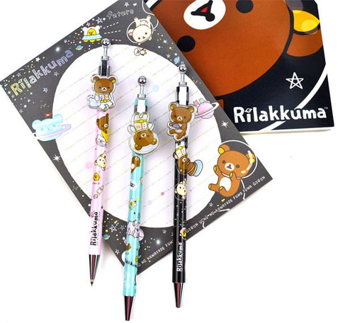 Rilakkuma in Space 0.5mm Mechanical Pencils