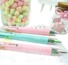 5+1 Multi Pastel Colors Pen and Mechanical Pencil
