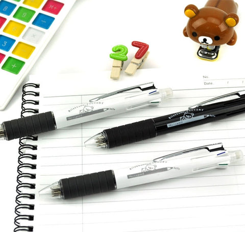 Classic Rilakkuma 4+1 Multi-Function Ballpoint Pen and Mechanical Pencil