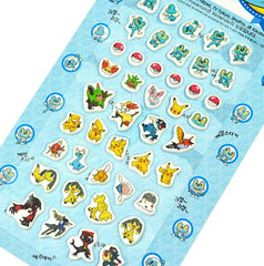Pokemon Stickers-Blue