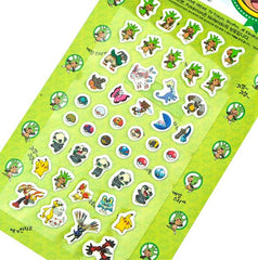 Pokemon Stickers-Green