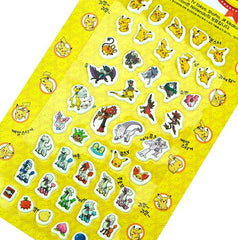 Pokemon Stickers-Yellow