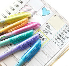 Pilot FriXion Erasable Pastel Highlighter feature