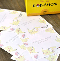 Pokemon Memo Notepad Set