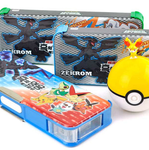 Pokemon Pencil Box with Built in Sharpener