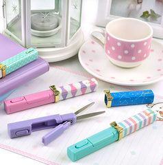 Pretty Pastel Stick Scissors