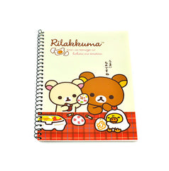 Rilakkuma Breakfast Notebook- Beige Cooking Breakfast