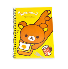 Rilakkuma Breakfast Notebook-Yellow Eggs and Toast