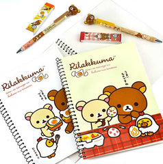 Rilakkuma Breakfast Notebook Detail
