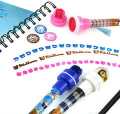 Rilakkuma Bubble & Double Stamp Ballpoint Pens