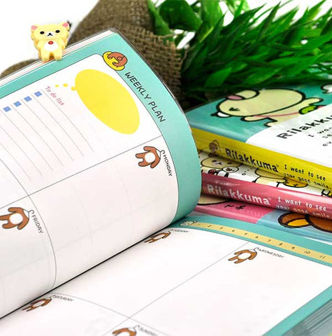 Rilakkuma Colorful Deluxe Planner