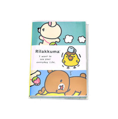 Rilakkuma Colorful Deluxe Planner-Horizontal Striped