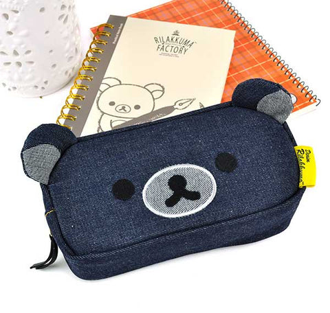 Rilakkuma Denim Jean Pencil Pouch