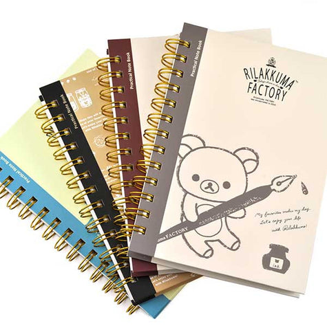 Rilakkuma Factory Notebook