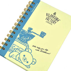 Rilakkuma Factory Notebook-Yellow/Blue