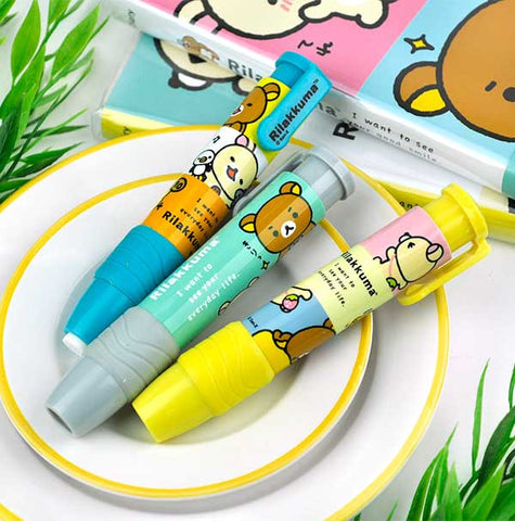 Rilakkuma Fun Time Stick Eraser