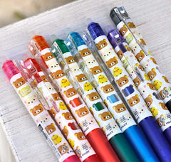 Rilakkuma Pilot FriXion Retractable Gel Pen