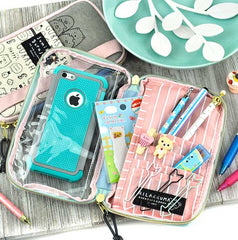 San-X Pencil and Cell Phone Case Duo