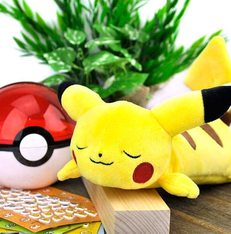 Sleeping Pikachu Plush Pencil Pouch