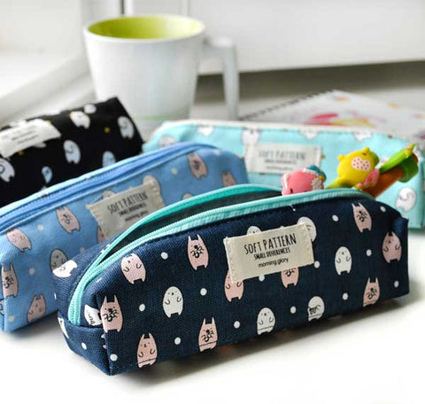 Soft Patterns Moongs Pencil Pouch