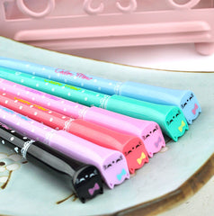 Starlight Cat Retractable Gel Pen