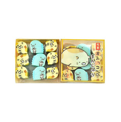 Sumikko Gurashi Tokage Mini Eraser Set-Tokage and Neko