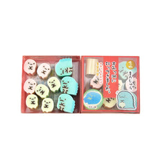 Sumikko Gurashi Tokage Mini Eraser Set-Tapioca and Tokage