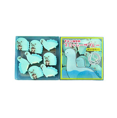 Sumikko Gurashi Tokage Mini Eraser Set-Tokage and Mom