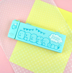 Sumikko Gurashi Pastel Pencil Box-Mint Blue