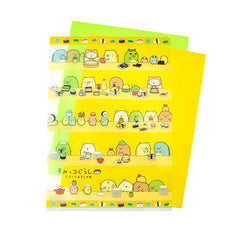 Sumikko Gurashi Sushi File Folder-Sushi Cook Assembly Line