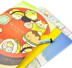 Sumikko Gurashi Sushi File Folder Detail