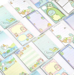 Sumikko Gurashi Mini Notepad Set with Mini Erasers