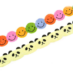 Smiling Faces Slim Washi Tape
