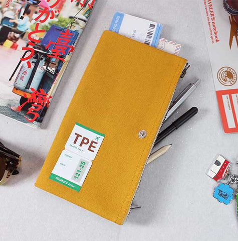 Taipei Traveler Pencil Pouch
