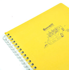 Toy Story Alien Notebook-Banana Yellow